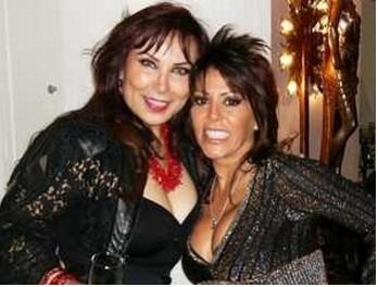 Valentina de Albornoz y Alejandra Guzman