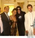 Michael Jackson y Barbara Mori