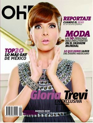 Gloria Trevi en Revista OHM