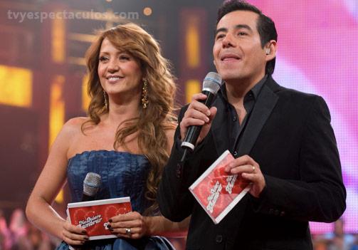Andrea Legarreta y yordi Rosado en Me Quiero Enamorar