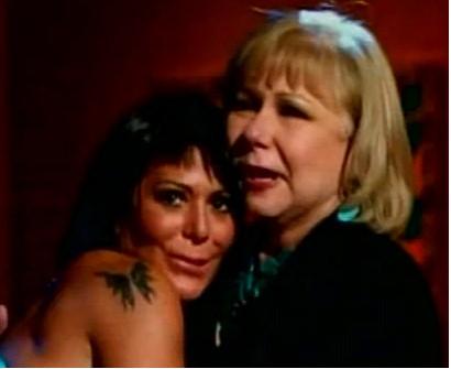 Alejandra Guzmán en el programa de Cristina