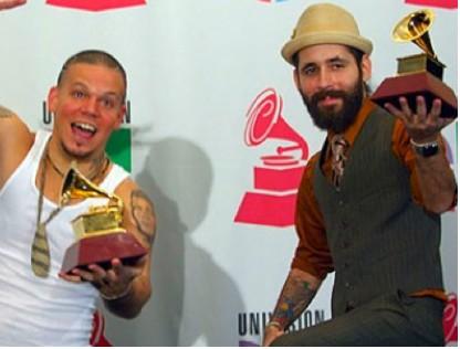 Calle 13 ganadores de 5 Grammy Latino
