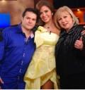 Gloria Trevi en el show de Cristina