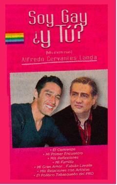 Soy Gay ¿Y Tú? el libro de Alfredo Cervantes Landa