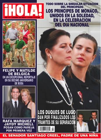 Rafa Marquez en Revista Hola
