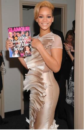 Rihanna elegida personalidad del Año por Glamour