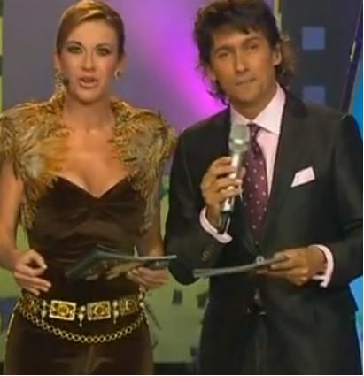 Ingrid Coronado y Rafael Araneda