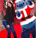 Selena Gomez feliz con Navidad