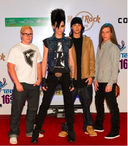 Tokio Hotel causa polémica en los Premios Telehit
