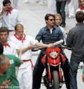 Tom Cruise y Cameron Diaz grabando Knight and Day