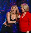 Shakira en el Show de Cristina