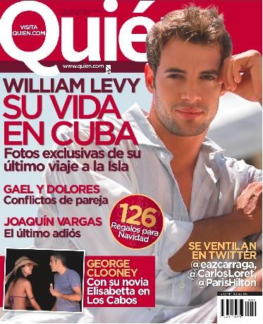 William Levy en Quién