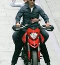 Tom Cruise y Cameron Diaz en Moto
