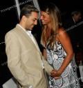 Cristian Castro con su novia Argentina Bibiana