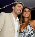 Cristian Castro y su novia Bibiana