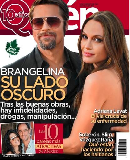Brangelina en Revista Quien