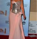 Christina aguilera en Los Globos de Oro 2010