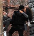 Niurka y Eduardo Antonio besándose
