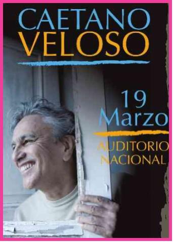 Caetano Veloso en el Auditorio Nacional