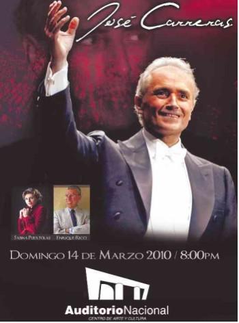 José Carreras en el Auditorio Nacional de México