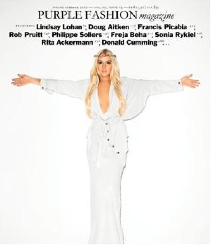 Lindsay Lohan como Cristo