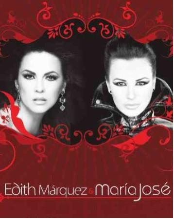 María José y Edith Márquez 7 de mayo en Auditorio Nacional