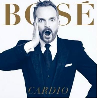 Miguel Bosé da a conocer la Portada de Cardio