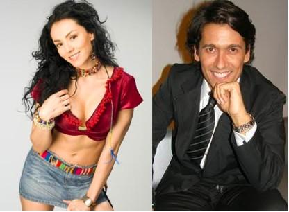 Rafael Araneda e Ivonne Montero