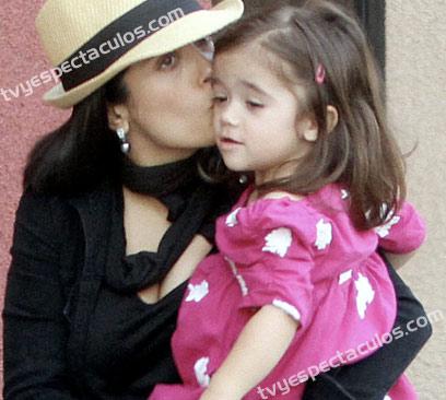 Salma Hayek con Valentina Paloma