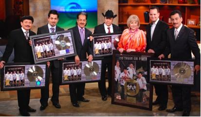 Los Tigres del Norte en el Show de Cristina