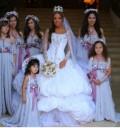 La Trevi en su boda