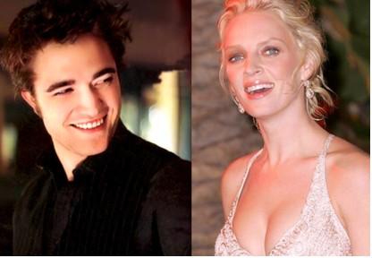 Robert Pattinson perturbado por escenas de sexo con Uma Thurman