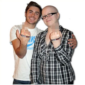 Zac Efron posa para Stupid Cancer