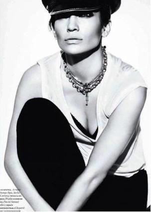 Jennifer Lopez en Revista Elle