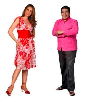 Alex Kaffie y Flor Rubio
