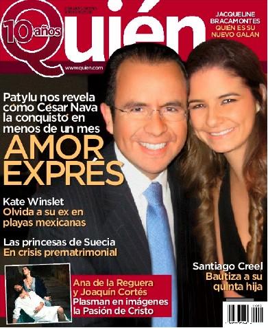 Paty Lu y César Nava hablan de su romance en Revista Quién