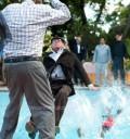 Caen al agua en la Fiesta de Zacatillo