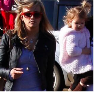 Jaie Lynn con su hija