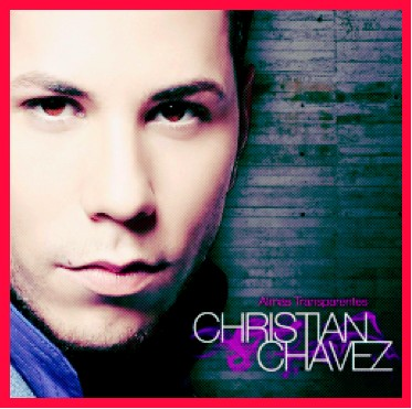 Portada Almas Transparentes de Christian Chavez