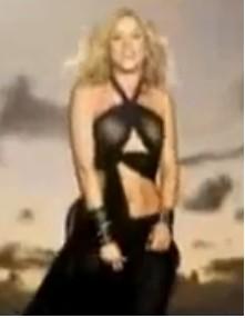 Video Gitana de Shakira