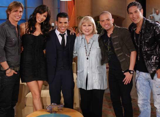 Carlos Baute en el Show de Cristina