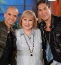 Chino y Nacho en el Show de Cristina