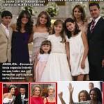 La Primera comunión de la hija de Angélica Rivera
