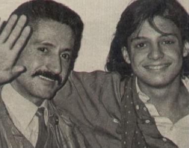 Luis Miguel y su papá