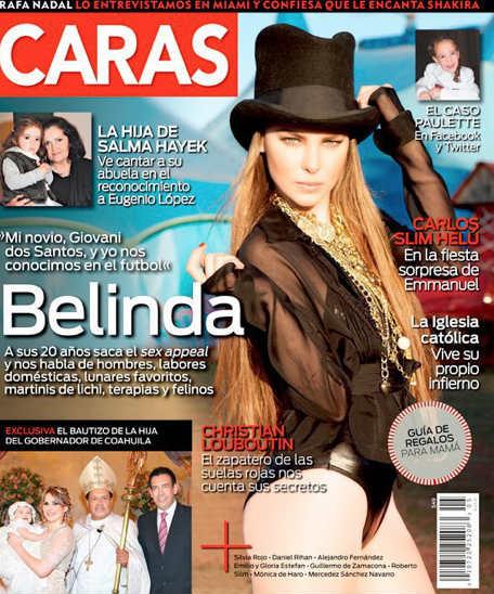 Belinda en Caras