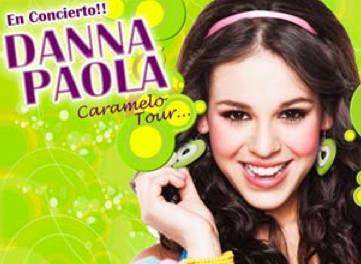 Danna Paola Tour Mundo de Caramelo 2010