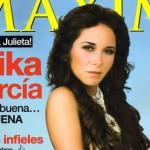 Erika García en Revista Maxim