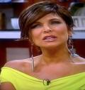 Lorena Rojas en su regreso a México