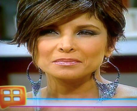 Lorena Rojas con nuevo look