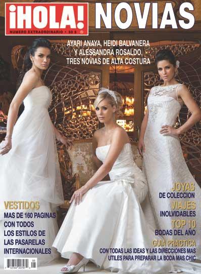 Alessandra Rosaldo y Ayari Anaya vestidad de Novias en Hola
